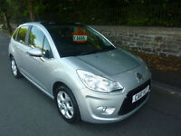 CITROEN C3 1.4i VTi 16v ( 95bhp ) EXCLUSIVE 5 DOOR HATCH IN SILVER