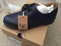 Dr martens shoes navy blu temperley 9