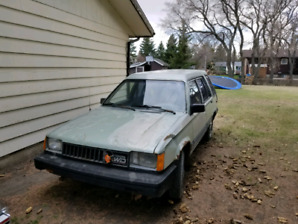 Another RARE Toyota Tercel 4x4 Wagon