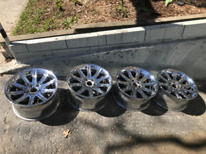 Bmw style 95 800$ chrome staggered 19x9 /19x10