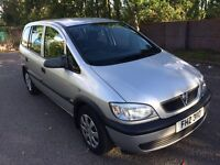 2004 Vauxhall Zafira 2.0L DTI 7 Seater Family Car For Sale Mot-02-2017 Bargain Price Only £999 ONO
