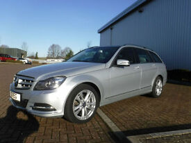 Mercedes-Benz C220 CDi BE Avantgarde Estate Left Hand Drive(LHD)