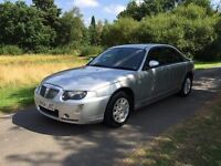 ROVER 75 2004 DIESEL TOP OF THE RANGE. YEARS MOT. LEATHER .. HISTORY. . 1 OWNER DRIVES LIKE THE BEST