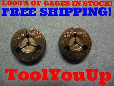 6 32 Unc 2a Thread Ring Gages 6 Go No Go P.d.s .1169 .1141 Inspection Tools