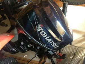REDUCED 8hp Tohatsu Outboard Boat Motor.