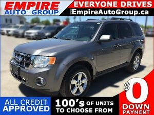 2011 FORD ESCAPE XLT * LEATHER * POWER GROUP