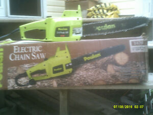 POULAN PRO ELECTRIC CHAINSAW Kawartha Lakes Peterborough Area image 1