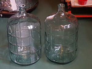 5-Gallon Glass Bottles