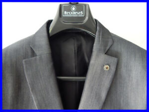 NEW BlackBerrys Men Suits 42 Slim Fit 2 Pieces + Suit Bag