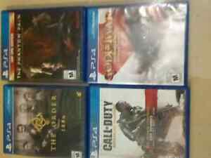 Ps4 game's