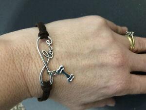NEW - Pawsome love your dog bracelet