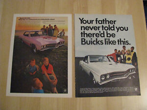 1967 and 1968 Buick GS Ads.
