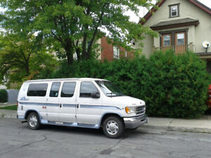 Marchepieds Ford E150 E250 Econoline running boards