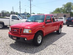 2011 Ford Ranger Sport Pickup Ext Cab Truck 2WD