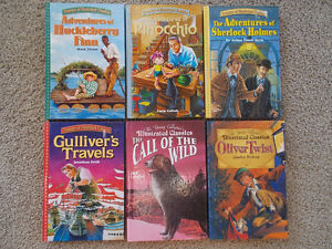 6 Hard Cover Classics-Adapted and Illustrated London Ontario image 1