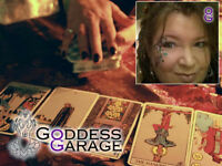 Online Tarot Readings ~ featuring the Goddess Spread