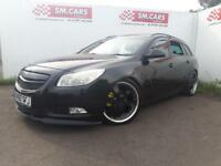 "2010 60 VAUXHALL INSIGNIA ESTATE 1.8 SRi.BODY MODIFICATIONS,20"" ALLOYS,LOWERED ."