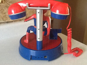 *AWESOME* SPIDERMAN TABLE TOP TELEPHONE London Ontario image 3