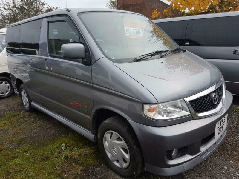 d6f3f61bf3 MAZDA BONGO 2 BERTH CAMPERVAN WITH REAR CONVERSION WITH ELECTRIC COOL BOX