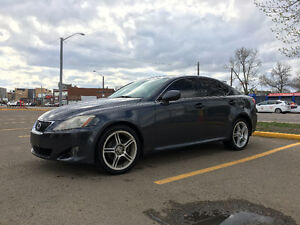 2007 Lexus IS 250 AWD W/ 2 SETS OF RIMS AND TIRES Sedan