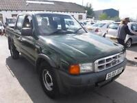 FORD RANGER DOUBLE CAB4X4 TD, Green, Manual, Diesel, 2002