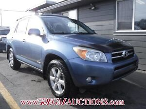 2006 TOYOTA RAV4 LIMITED 4D UTILITY 4WD LIMITED