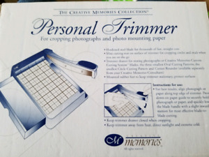 Creative Memories Personal Trimmer Photo Cropper Paper Cutter