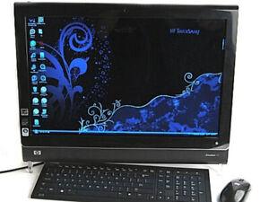 HP TouchSmart IQ816 PC 25'5 POUCES