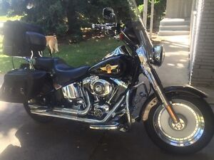 Harley Davidson  fat boy  2005  15 years special edition