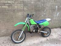 Kawasaki KX 80 ( Barn find )
