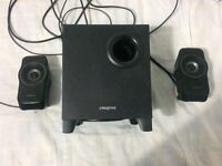 Creative A320 (2.1) speaker with subwoofer