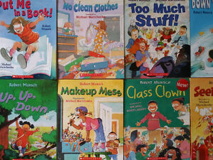 32  Robert N. Munsch Children's Books Different Titles