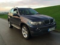 2004 BMW X5 3.0 d Sport 5dr auto **LEATHER,SATNAV,XENON,SIDE STEPS**HIGH MILES***face lift