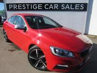 2014 Volvo S60 2.0 D4 R-Design (s/s) 4dr Diesel red Manual