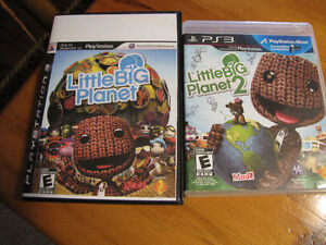 PS3 Little big planet 1 - 2, De Blob 2. Tested!