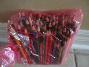 Large bag of assorted pencil colours