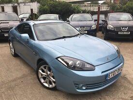 Hyundai Coupe 2.0I (blue) 2007