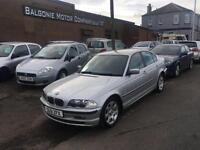 2001 BMW 3 Series 2.5 325i SE 4dr