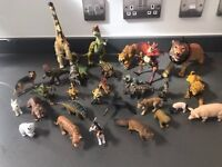Mix of 30 dinosaurs/animals all in great condition £20 collection only