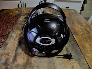 Blk Compact CD Player