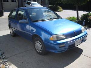 1994 Pontiac Firefly Hatchback