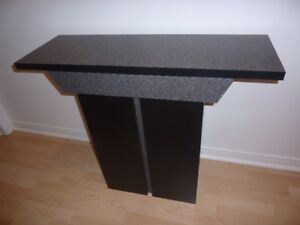 Table console murale