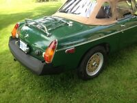 Solid Sharp 1980 MGB Roadster