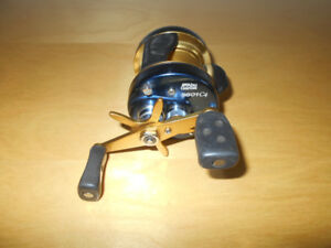 Moulinet a peche Abu Garcia Gaucher, Fishing reel rod