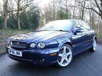 2008 58 Jaguar X-TYPE 2.2D Sport Premium..SAT NAV..LEATHER..HIGH SPEC !!