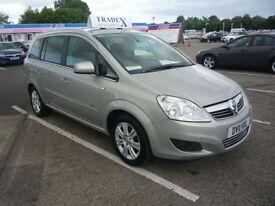 11 REG Vauxhall/Opel Zafira 1.8i 16v VVT 2011.5MY Design