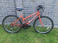 Ladies Red Casual Bike Good Clean Condition