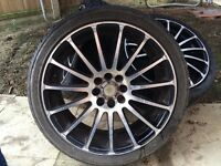 "18"" wolfrace multifit 4x100 and 4x108"