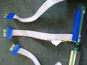 PCIE RISER CARD 1X to 16X Ext. Cable X 6