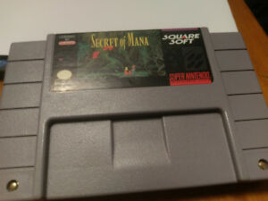 Secret of Mana - Super Nintendo SNES - Rare Classic RPG